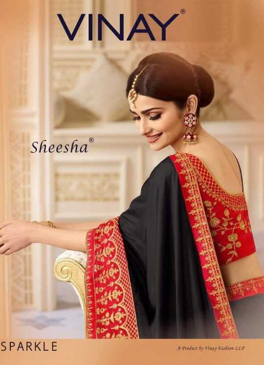 ec039f5eb3 Vinay fashion STARWALK sparkel 18601 TO 18608 SERIES FANCY PARTY WEAR  SPARKEL SILK EMBROIDERY SAREE FULL SET WHOLESALE PRICE SAREE WHOLESALER  SURAT