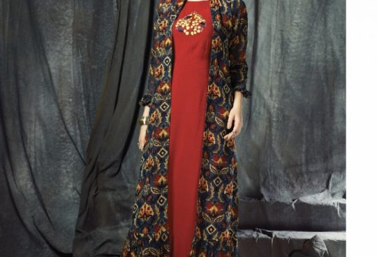 92c79570ae Anoli by nitara 3001 series fancy georgette party wear kurti catlog  wholesale dealer surat