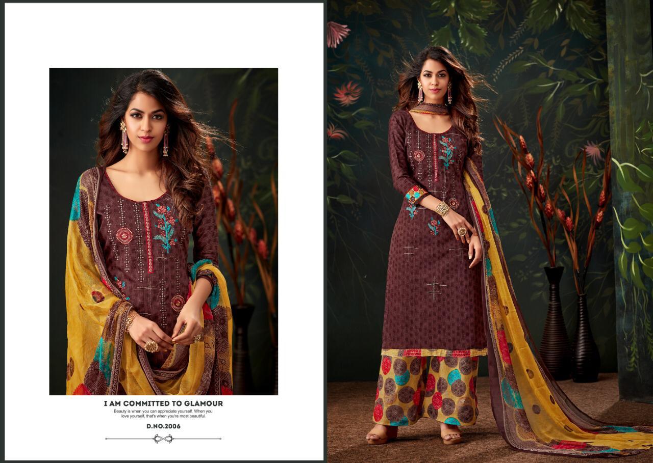 5c570d1b44 NITYANX » Heeriye by kay vee suits 2001 series fancy pure Jam silk ...