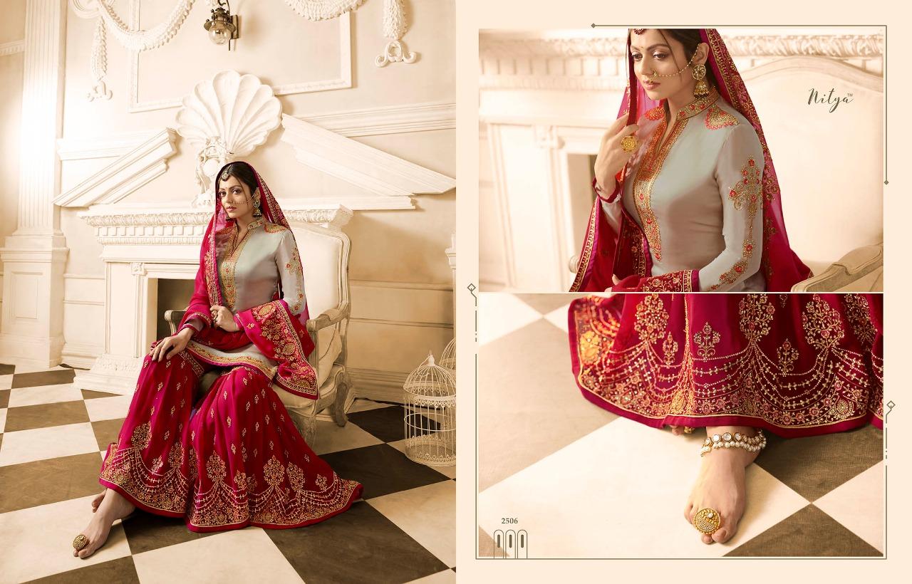 1059e93574 Download Image Zip · Download PDF. Nitya vol 125 by lt fabrics 2501 series  fancy designer party wear sarara suit catlog wholesale ...