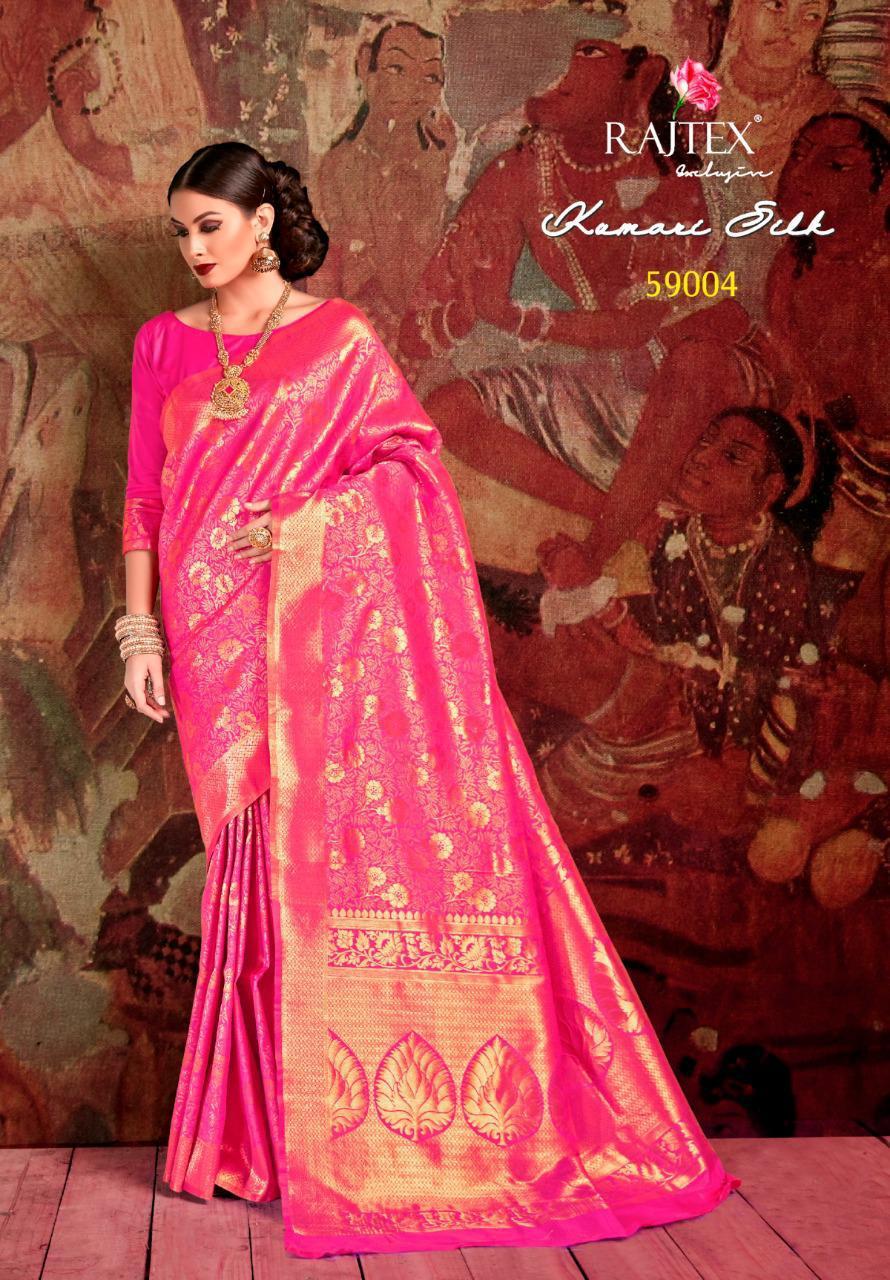 NITYANX » Kumari silk by raj tex 59001 series fancy party wear soft