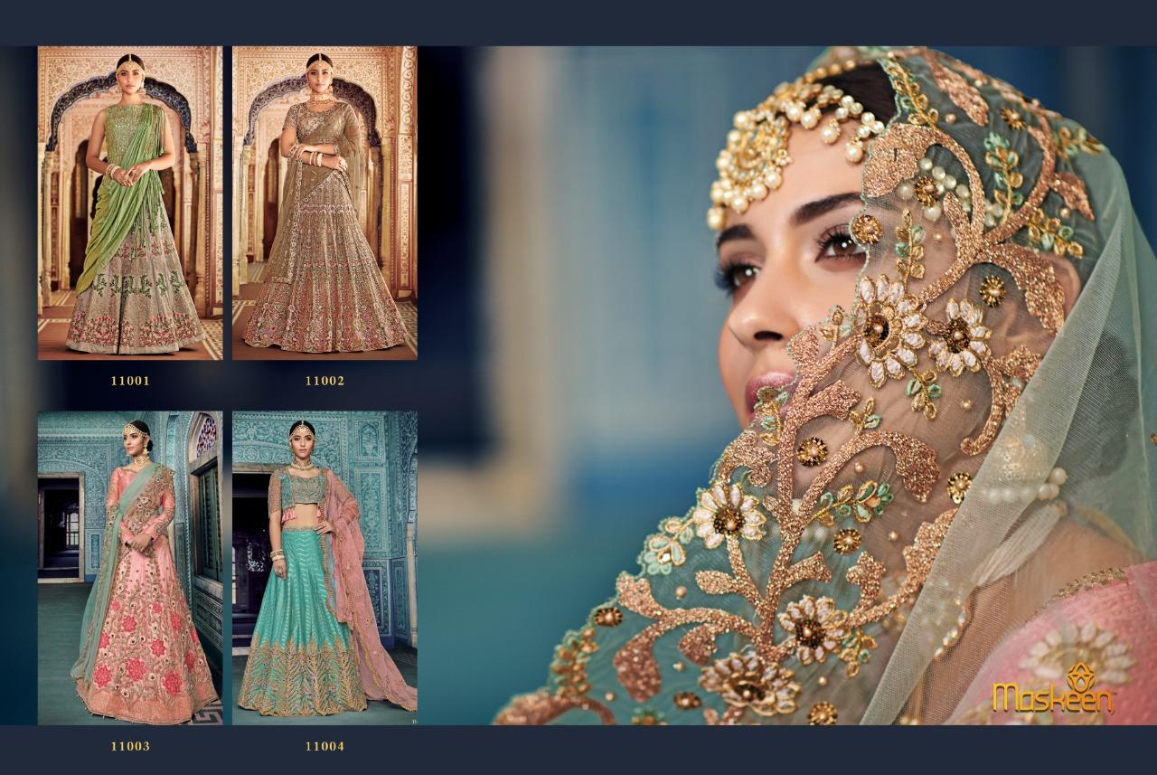 5ef8a3a71a Download Image Zip · Download PDF · Download Image Zip · Download PDF. Maisha  maskeen lehenga 11001 series fancy designer party wear lehenga wholesale ...