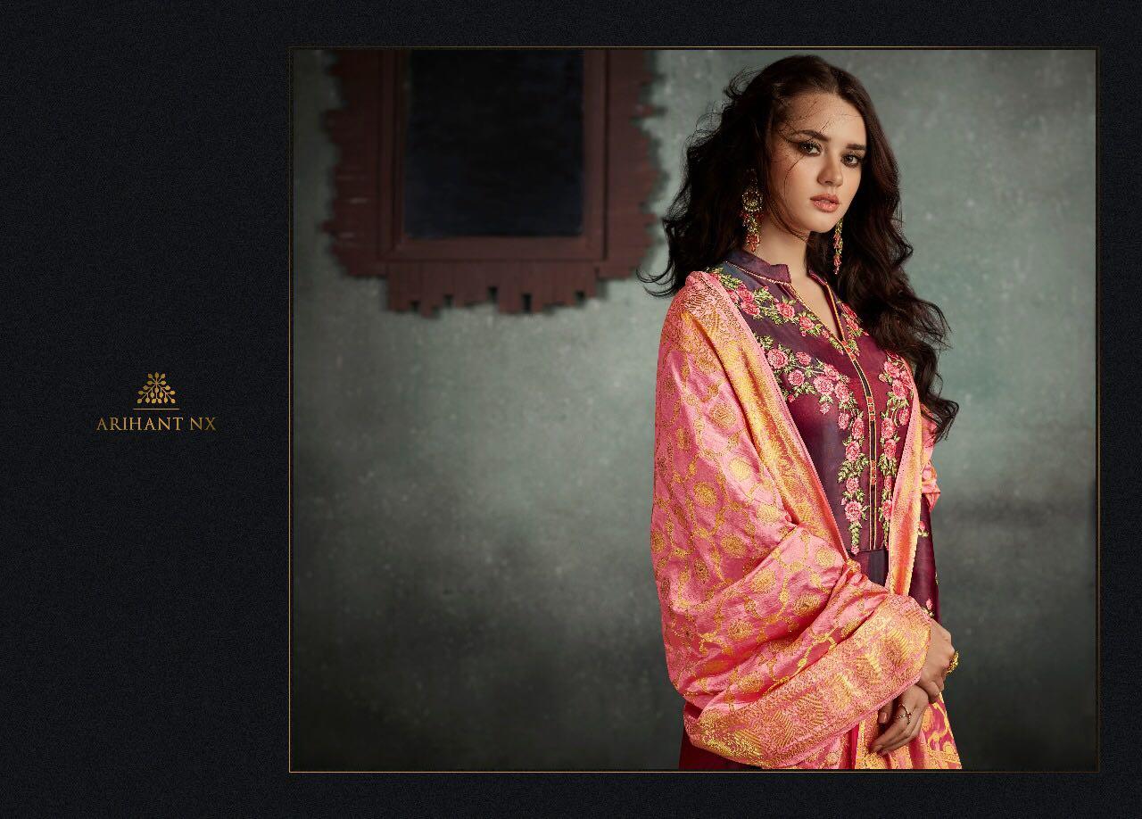 759ec2cf7a Download Image Zip · Download PDF. Arihant NX Rizwana 5001 series designer  gown suit collection