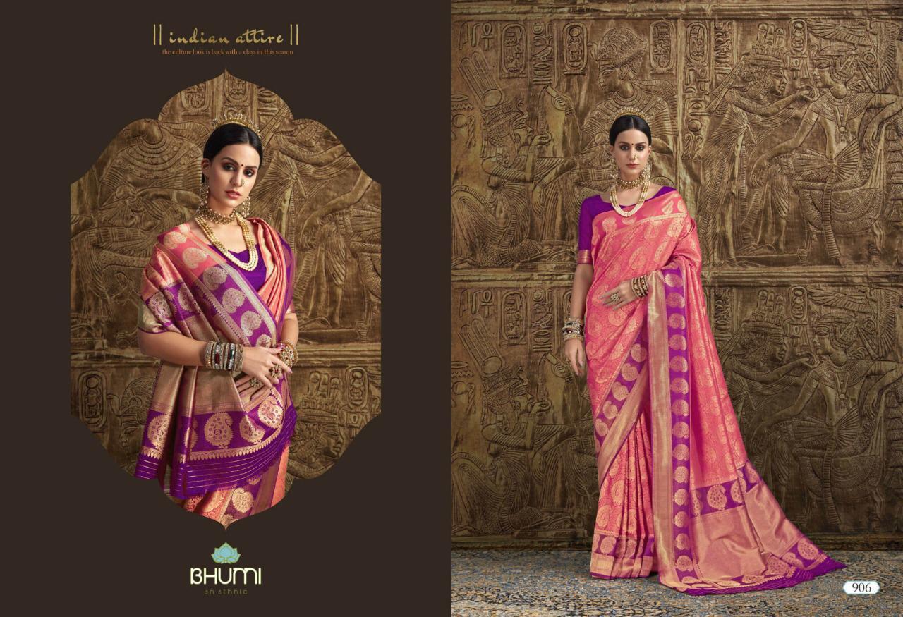 NITYANX » Liza by bhumi 901 series designer party wear brocker soft