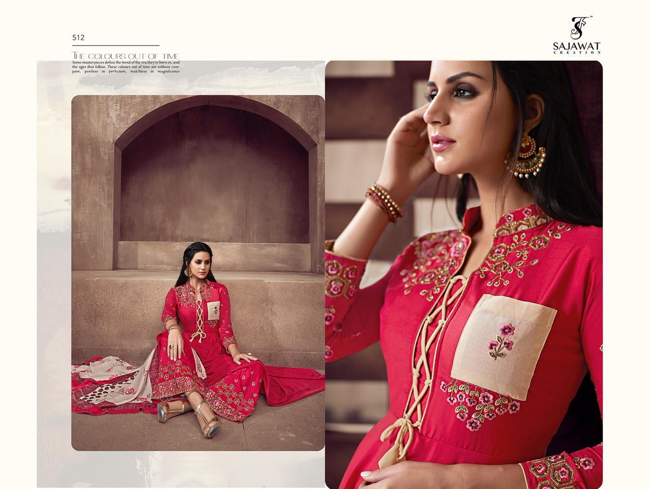 0f5d6cb932 Download Image Zip · Download PDF · Download Image Zip · Download PDF. Sarthi  Vol. 2 By Sajawat designer pure Maslin Suit Series 511 To 516 ...