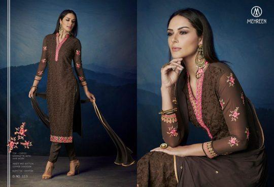 605afa77d5 Antra by Mehreen series 109 to 116 Georgette designer suits wholesale  supplier surat