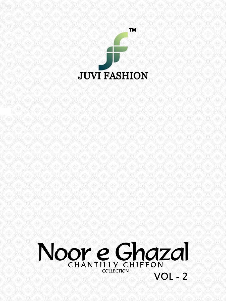 2c284fdca8 Book Noor E ghazal vol 2 Chantilly chiffon collection by juvi fashion  Pakistani suits Wholesale supplier Gujarat on +91-9898838984. Download  Image Zip