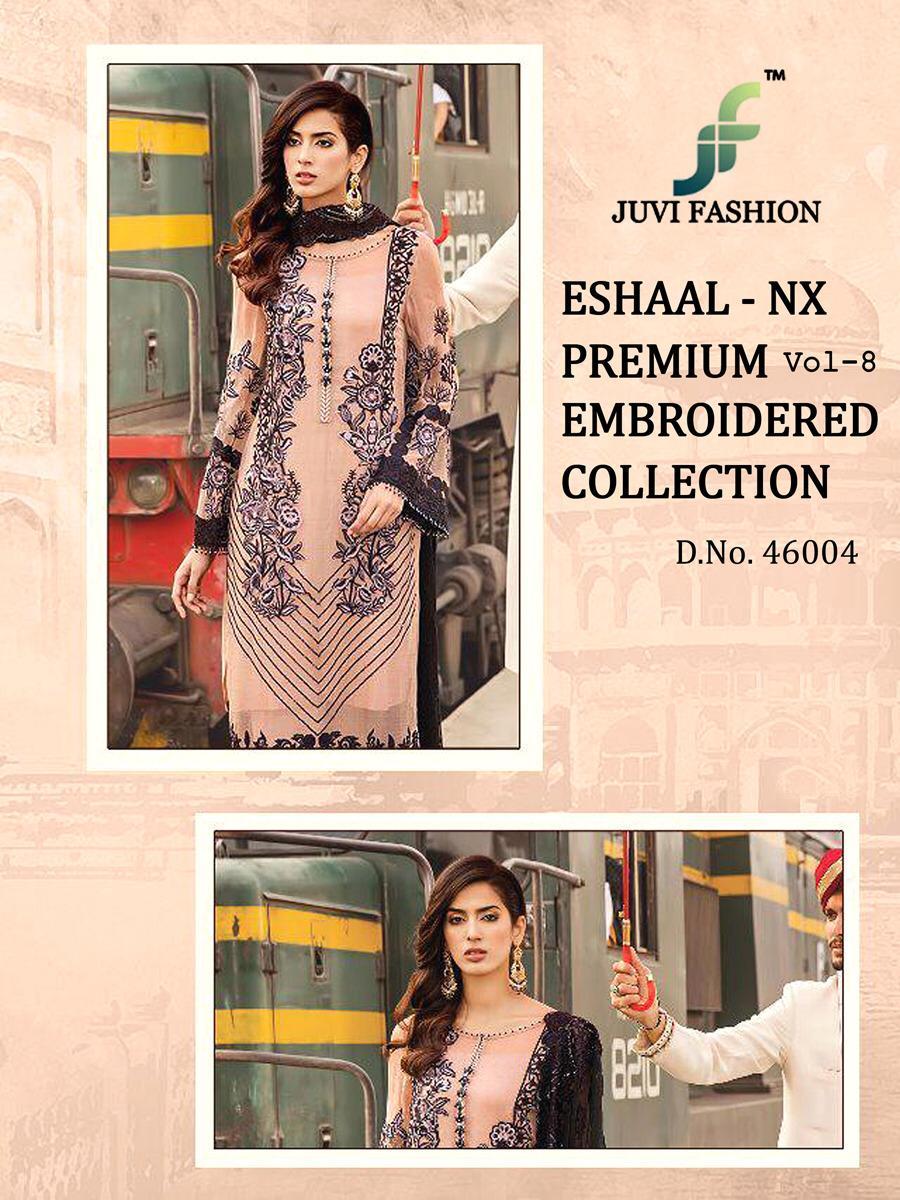 7876038900 Download Image Zip · Download PDF. Eshaal vol 8 nx by juvi fashion  Pakistani suits Wholesale supplier gujarat
