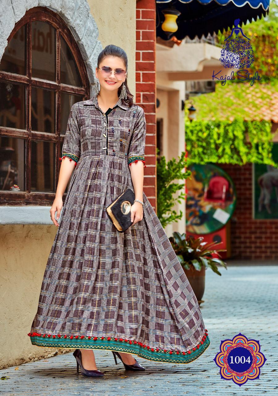 2dc50649af Download Image Zip · Download PDF · Download Image Zip · Download PDF. Fashion  loreal Vol 1 by kajal style reyon printed party wear kurtis wholesale ...