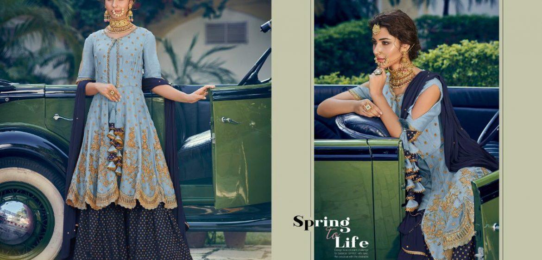 e79ce0c6f7 Maisha Maskeen new colours series 6905 A to 6905 D Designer Party wear  suits Wholesale supplier gujarat